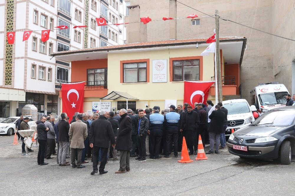 Yahyalı'da 112 Acil Çağrı İstasyonu ve Okuma Salonu Açıldı