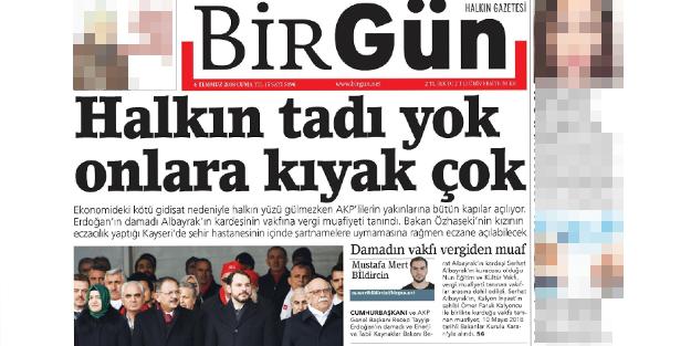 Yalana doymayan Birgün'e mahkeme tokadı!