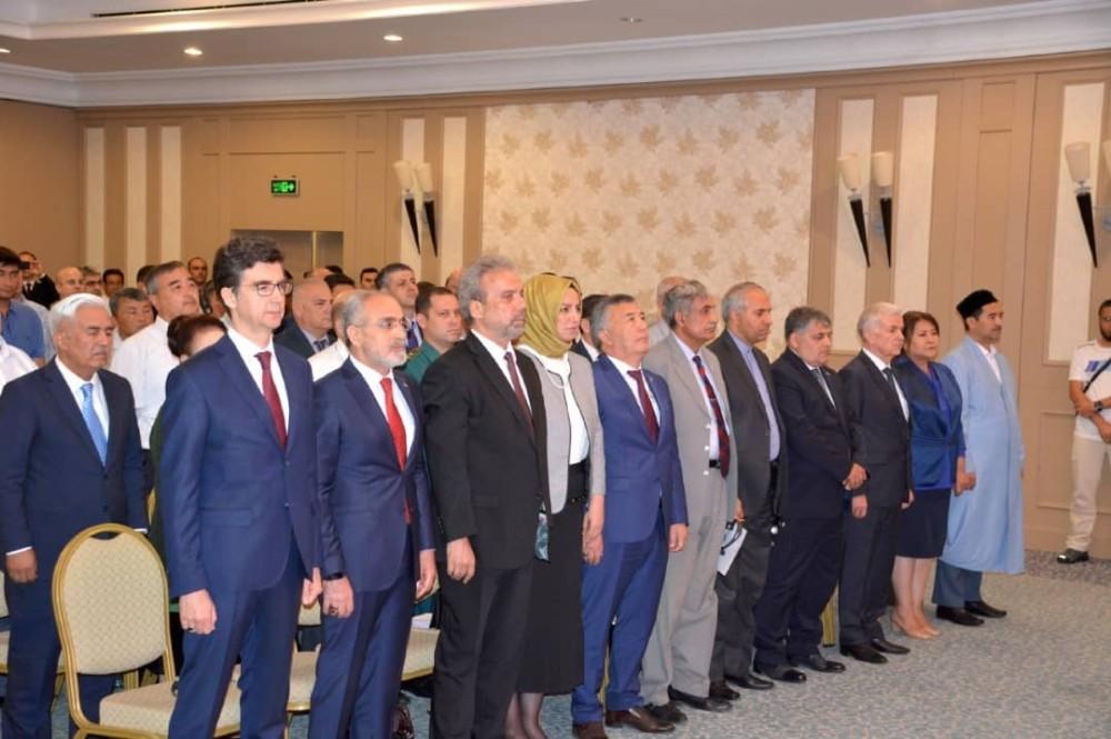 Yalçın Topçu Özbekistan'da 15 Temmuz Programına Katıldı