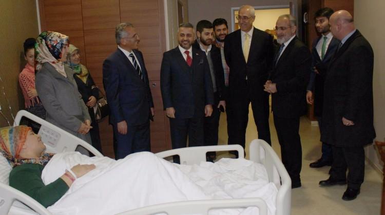 Yalçın Topçu terör saldırısı sonrası İstanbul'da