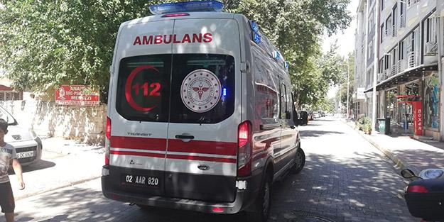 Yalnız oynadığı balkondan düşen 1 yaşındaki çocuk ağır yaralandı