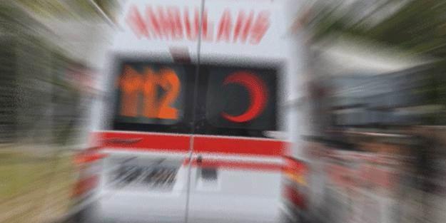 Yalova'da ambulans ile otomobil çarpıştı!