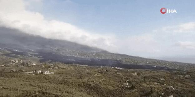 Yanardağ felaketinde 400 ev yok oldu