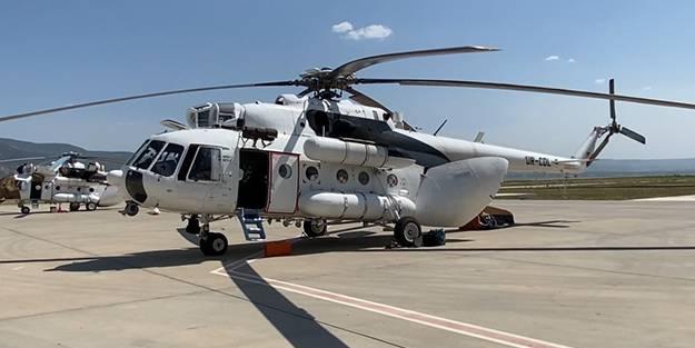 Yangınla mücadelede önemli! Gece görüşlü helikopterler müdahaleye hazır