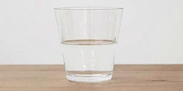 Yarım bardak su için 20 bin Euro!