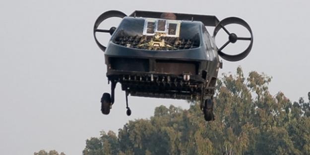 Yarım ton ağırlık taşıyabilen drone: AirMule
