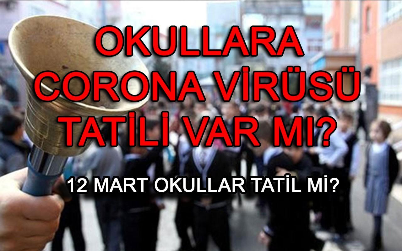 Yarın okullar tatil edilecek mi? Okullara koronavirüs tatili var mı?