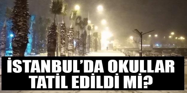 Yarın okullar tatil mi İstanbul 25 Şubat Pazartesi yarın tatil mi
