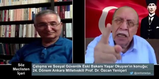 Yaşar Okuyan'dan skandal sözler: Devlet Bahçeli beni iyi dinle lan...