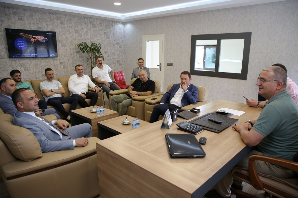Yatırımcılar ile başkan buluştu