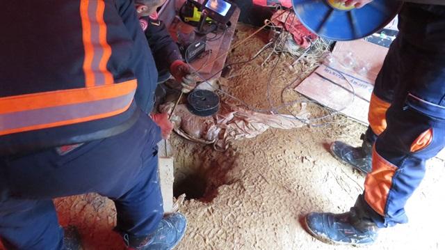 Yavru köpek 70 metrelik kuyuda 6 gündür mahsur