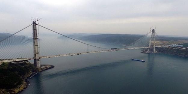 Yavuz Sultan Selim Köprüsü geçiş ücreti 9 lira olacak