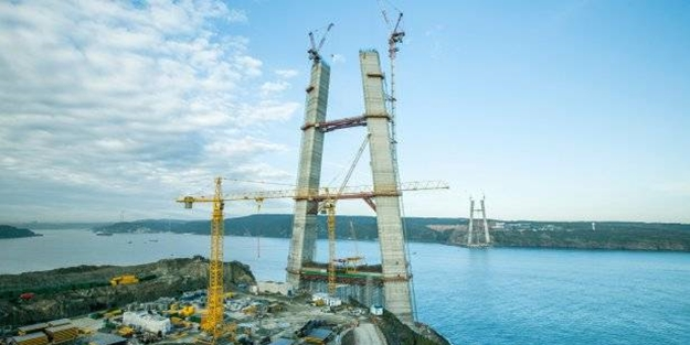 Yavuz Sultan Selim Köprüsü kuleleri için son hafta