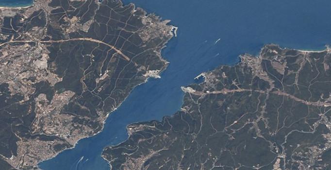 Yavuz Sultan Selim köprüsü uzaydan böyle görüntülendi