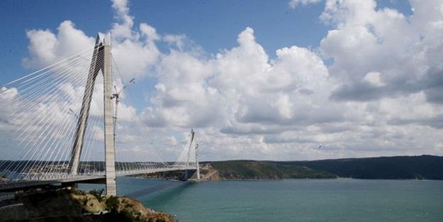 Yavuz Sultan Selim Köprüsü'ne yoğun ilgi