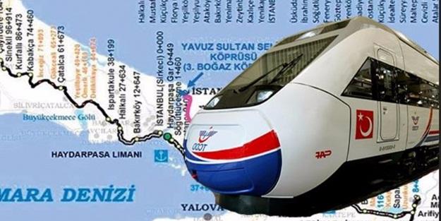 Yavuz Sultan Selim Köprüsü'nü demiryolu hattına bağlayacak güzergah açıklandı