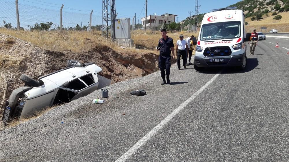 Yavuzeli'de trafik kazası: 4 yaralı