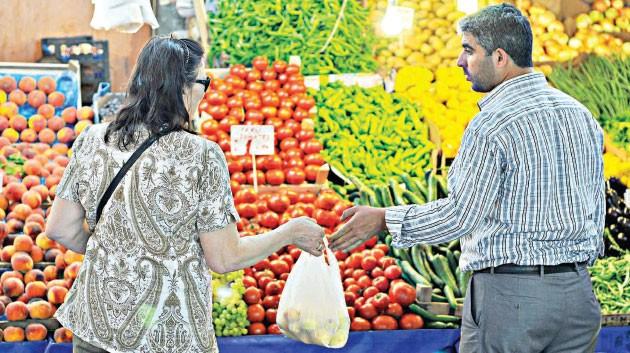 Yaz enflasyonu 'Gıda'sız kaldı