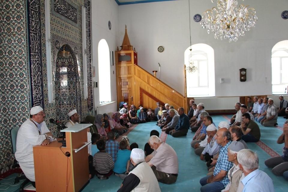 Yaz Kur'an Kursu öğrencilerinden İlahi ve Kur'an- Kerim tilaveti