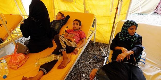 Yemen'de 3 ayda bin 784 kişi hayatını kaybetti
