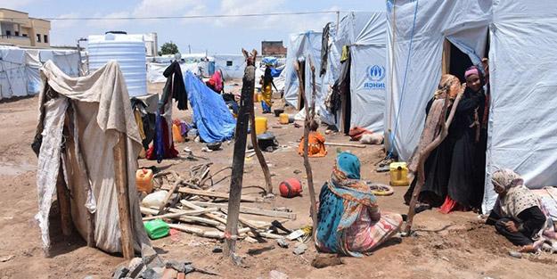 Yemen'de insani kriz devam ediyor! Çoğu çocuk 60 kişi hayatını kaybetti