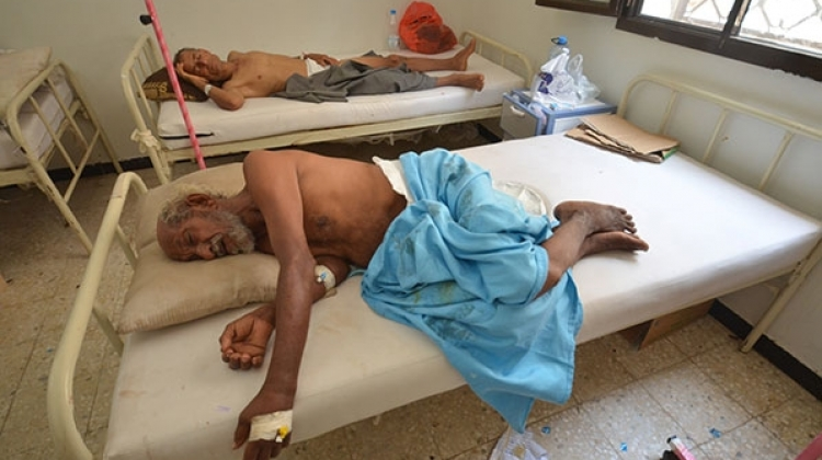 Yemen'de salgın: 115 ölü