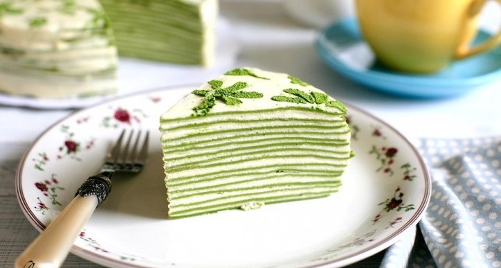 Yemyeşil pasta | Matcha çayını bu kadar lezzetli tüketmiş miydiniz? Yemyeşil pasta | Matcha çayını bu kadar lezzetli tüketmiş miydiniz?