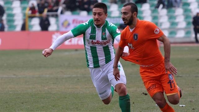 Yeni Amasyaspor-Başakşehir: 0-1