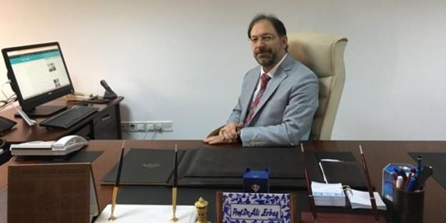 Yeni Diyanet İşleri Başkanı Prof. Dr. Ali Erbaş Kur'an okuyor