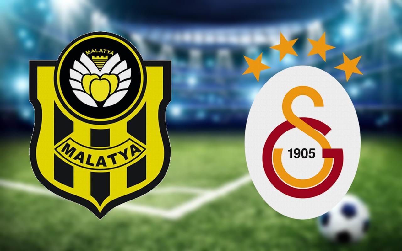 Yeni Malatyaspor Galatasaray maçı ilk 11'leri