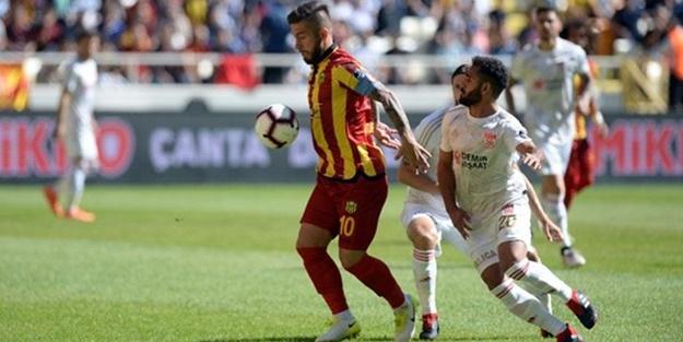 Yeni Malatyaspor Sivasspor maçı muhtemel11'leri