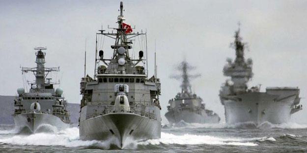 Yeni Navtex yayınladı: Savaş gemileri Doğu Akdeniz'e iniyor