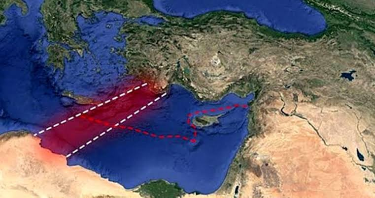Yeni planlarını Yunan basını ifşa etti! Kafese kısılan Yunanistan hangi
