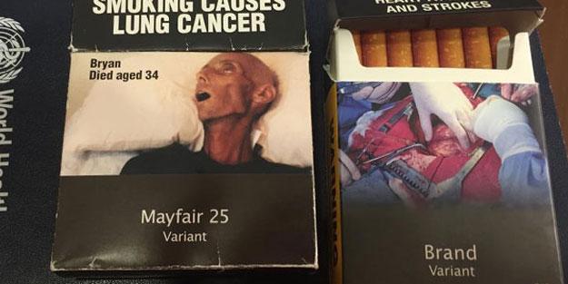 Yeni sigara paketleri, artık böyle olacak!