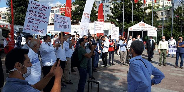 Yeniden Refah Partisi, İstanbul Sözleşmesi'ne karşı sokağa indi