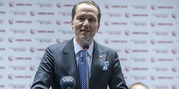 Yeniden Refah Partisi Lideri Fatih Erbakan'dan ittifak kararı