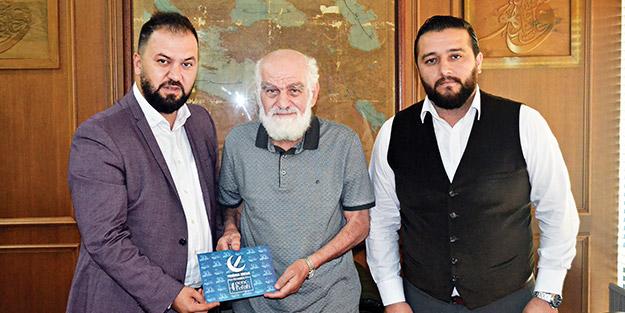 Yeniden Refah Partisi'nden Akit'e ziyaret
