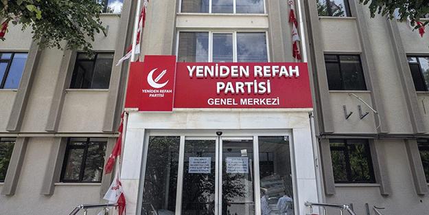 Yeniden Refah Partisi'nde toplu istifa