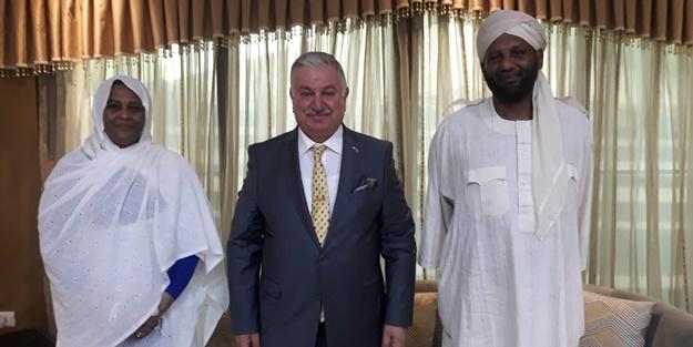Yeniden Refah Partisi'nden Sudan ziyareti: Karşılıklı yakın işbirliği mesajları