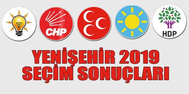 Yenişehir seçim sonuçları 2019 | Mersin Yenişehir 31 Mart seçim sonuçları oy oranları