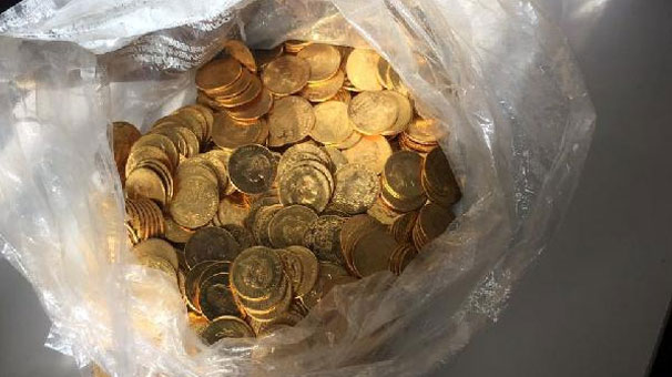 Yer Tokat… Hepsi altın! Yüzlercesi yakalandı