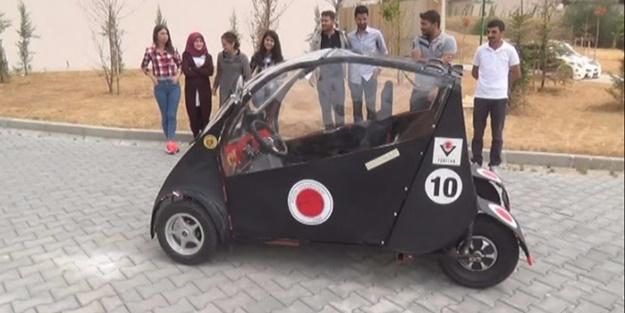 Yerli elektrikli otomobil ürettiler