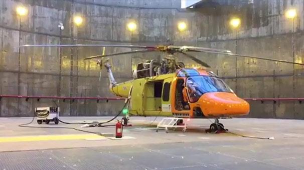 Yerli helikopter motorunun gücü testten başarıyla geçti
