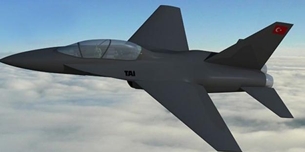 Yerli jet uçağı Hürjet'in yeni görüntüsü ortaya çıktı