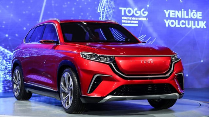 Yerli otomobil TOGG Barcelona'da dünyaya tanıtılacak