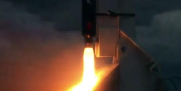 Yerli uzay roketi ikinci atış testine başladı