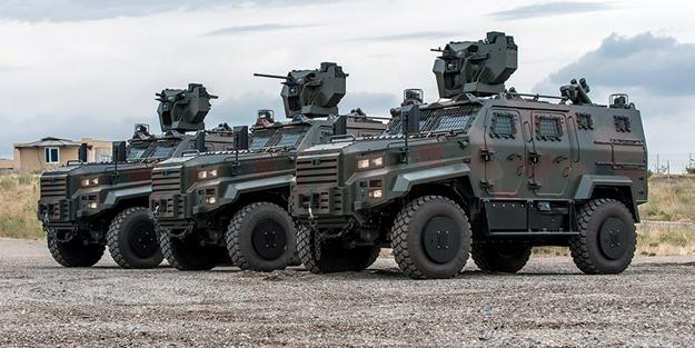 Yerli zırhlı aracımızın insansız modeli geliştirildi