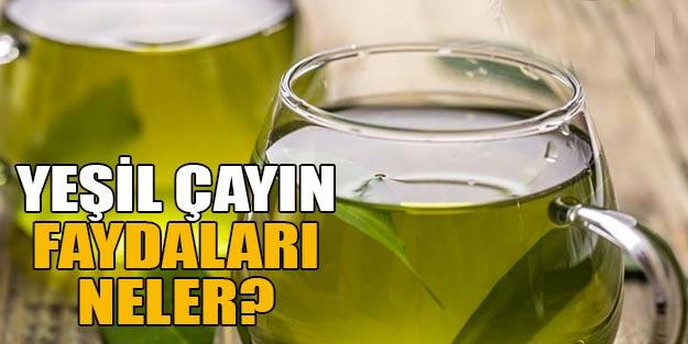 Yeşil çayın fayaları neler? Yeşil çay nasıl demlenir nasıl içilir?
