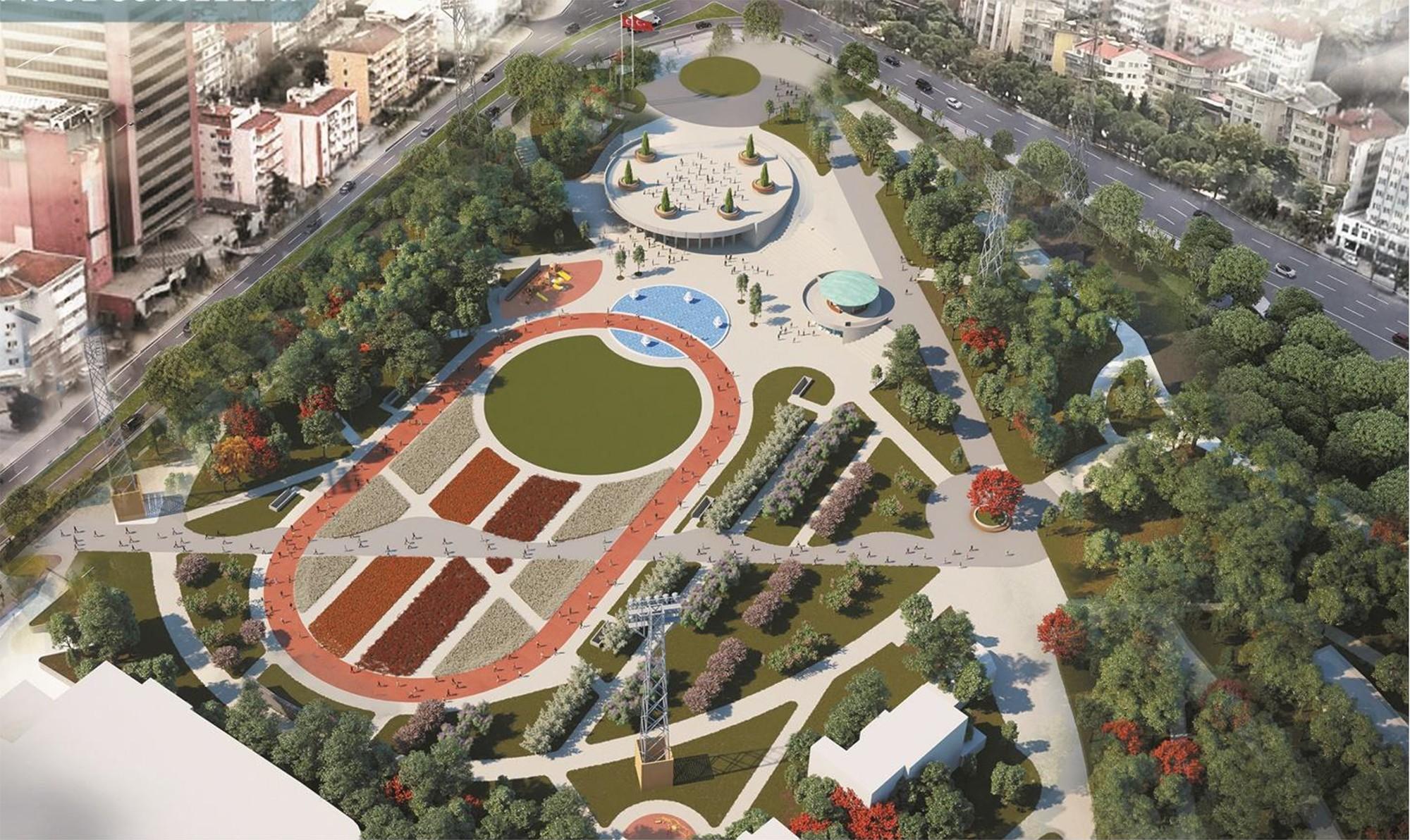 Yeşil hasreti Büyükşehir'le bitiyor