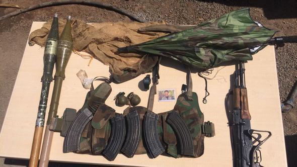 Yeşil listedeki PKK'lı imha edildi!